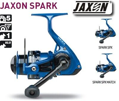 Jaxon Spark Spx Fishing Reel Spinning Jig Match Front Drag Long Cast Spool Pike • 28.99£