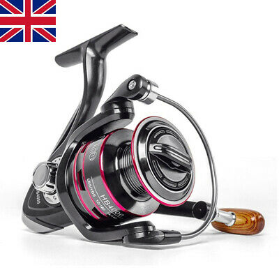 Spinning Fishing Reel Feeder Saltwater Freshwater Left/Right Hand 1000-6000 CZ • 14.99£