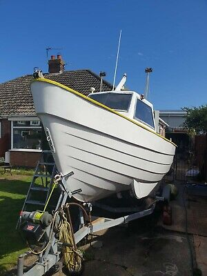 Sea Fishing Boat And Trailer • 4,500£