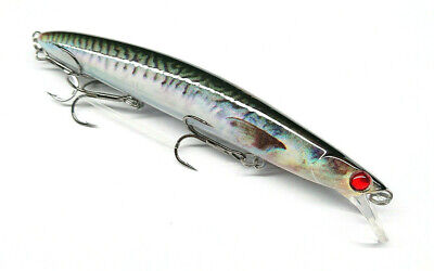 Predilures 3577 Bass Lure Ultimate Real Print 125mm 20g 0.5-0.8m Dive Vmc Hooks  • 10.99£