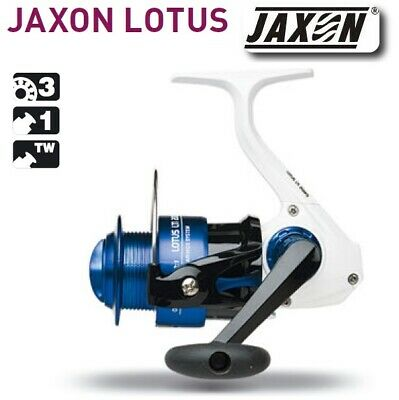 Jaxon Lotus Lti Fishing Reel Spinning Jig Float Front Drag Long Cast Spare Spool • 16.99£