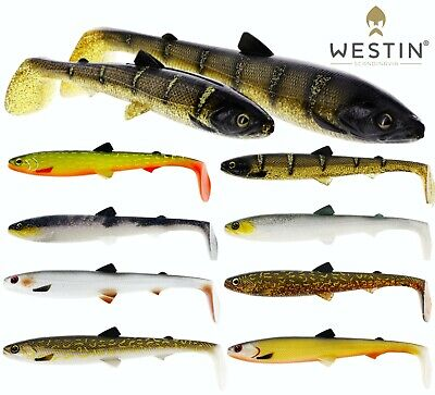 Westin Fishing Lures BullTeez 18cm Bull TEEZ  Cast Jig Pro Tackle Soft Plastic • 6.45£