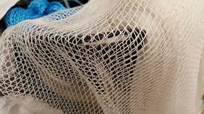 Prawn / Shrimp Net Netting 3/8  (10mm) Mesh 2 M Wide Per Metre NEW Crays • 5.75£