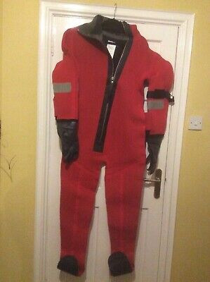 International Safety Products 2011 Mk1 Immersion Suit Size Universal/Medium • 50£