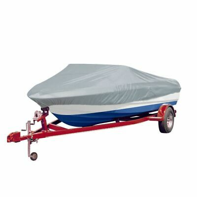 VidaXL Boat Cover Grey Tear-resistant Canvas Vehicle Storage Canopy Protector • 48.99£