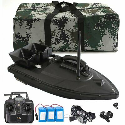 500M RC Wireless Carp Fishing Bait Boat Hook Post With Handbag 2 Spare Batteries • 115.99£