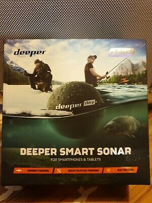 Deeper Smart Sonar CHIRP + Fishfinder  • 220£