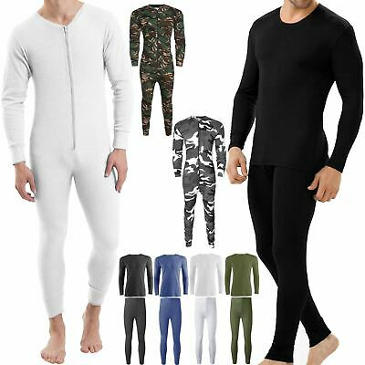 Thermals Full Sets Underwear Tops Long Johns Skiing Suit Base Layer All In One • 8.99£