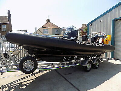 Rib Craft 6.5 Metre Commercial Coded Boat • 41,000£
