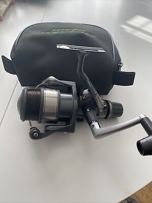Shimano Nexave 4000r Fishing Reel With Padded Bag Used • 25£