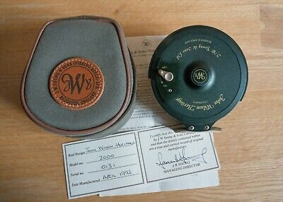 JW Young John Wilson Heritage 2000 Centrepin Reel. New In Box With All Paperwork • 170£