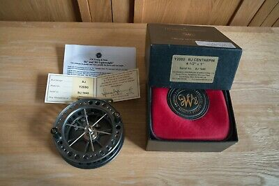 JW Young Bob James Centrepin Reel. Boxed With Certificate. • 150£