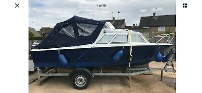 River Cruiser 16ft With Trailer  • 4,000£