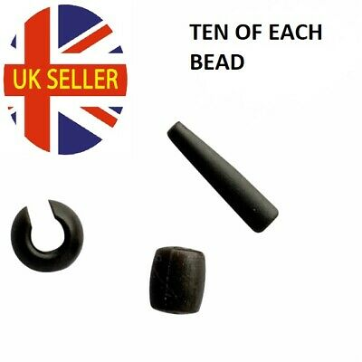 Naked Chod - Leadcore Heli - Chod Safety System, Safety Beads Carp Fishing Rigs • 3.89£