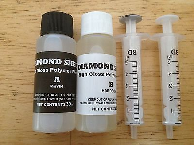 DIAMOND SHEEN 2 Part Fishing Rod Varnish / Epoxy (60ml) • 8.99£