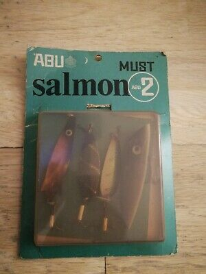 Abu Salmon MUST Vintage Lure Pack • 40£