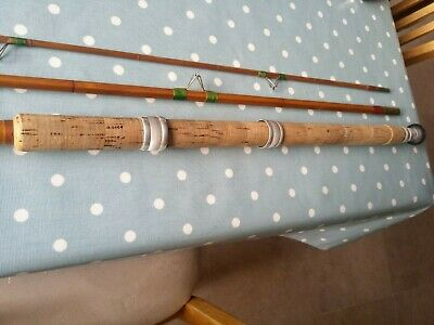 12ft Split Cane Float Rod • 50£
