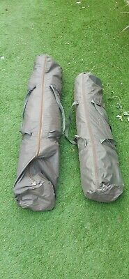 Trakker Tempest Bivvy Shelter With Utility Front And Skull Cap For Carp Fishing • 103£