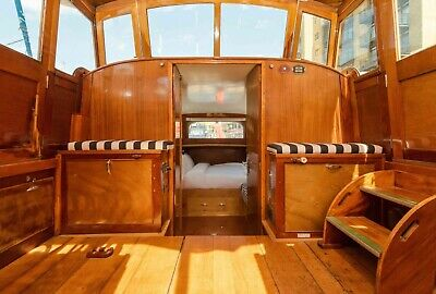 Snowgoose - Motor Yacht - Landamores 37 Cruiser (Houseboat Or Leisure Cruiser) • 90,000£
