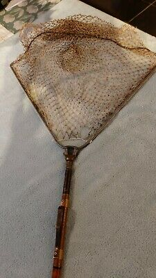 Vintage Fly Fishing Landing Net. • 19.99£