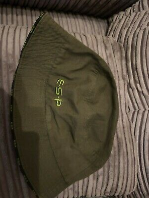 Esp Carp Fishing Bucket Hat Rare Terry Hearn In Good Condition In Olive Green • 12.50£