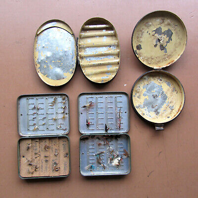 Quantity Of Richard Wheatley Loch Leven Fly Boxes & Japanned Boxes • 24.99£