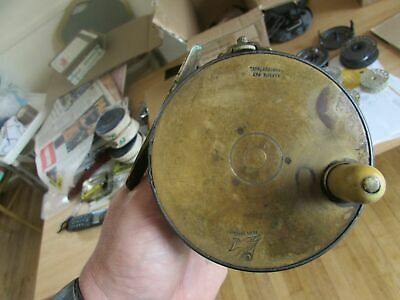 V Good Rare Vintage Hardy 1906 Perfect 4.25  Brass Face Salmon Fly Fishing Reel • 440£