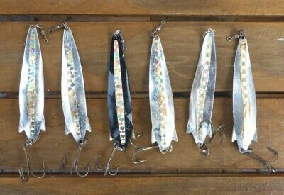 6 X Vintage Abu Toby Smash Lures, 18g, Made In Sweden. Free Postage. • 20£