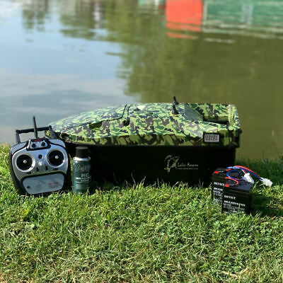 Brand New Carp Bait Boat. Lake Reaper, Camouflage A Fantastic Boat. Best Deal! • 349.99£