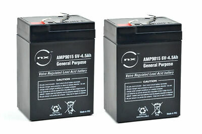 PACK Of 2 Replacement Batteries For Waverunner SHUTTLE Bait Boat | 6V 4.5ah • 17.50£