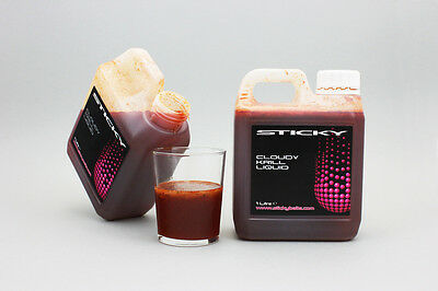 Sticky Baits The Krill Cloudy Liquid Attractant 1ltr Bottle NEW Carp Fishing • 10.99£