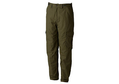 Trakker Ripstop Thermal Green Combats Trousers NEW *All Sizes* • 59.99£
