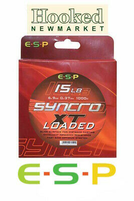 ESP Syncro XT 'LOADED'  Carp Line -  ALL SIZES  - Same Day Dispatch • 19.95£
