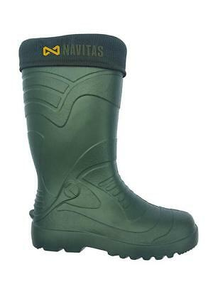 Navitas LITE Welly Insulated Wellies Boot *All Sizes Available* NEW Carp Fishing • 32.99£
