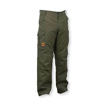 Prologic NEW Fishing Green Water Repellent Cargo Trousers *All Sizes* • 34.99£