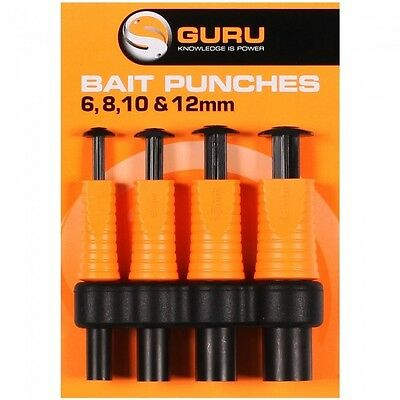 Guru Bait Punch Set NEW Coarse Carp Fishing Bait Punches For Meat / Bread • 10.99£