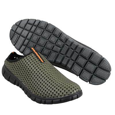 Prologic Bank Slippers Green Slip On Fishing Shoes NEW *All Sizes* • 22.95£