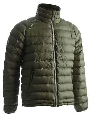 Trakker Base XP Jacket Green Puffa Quilted Coat *All Sizes* • 49.99£