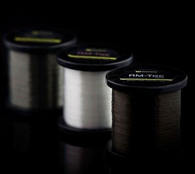 Ridgemonkey RM-Tec Mono Mainline Ridge Monkey Monofilament Line 1200m *All Types • 13.99£