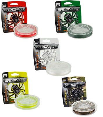 Spiderwire Stealth Smooth 8 Carrier Braid 150m, 240m & 300m *Full Range* • 24.99£