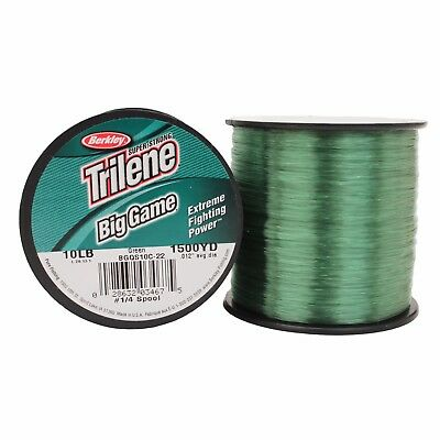 Berkley Big Game Green Monofilament Mono Fishing Line Bulk Spool *All Types* • 9.99£