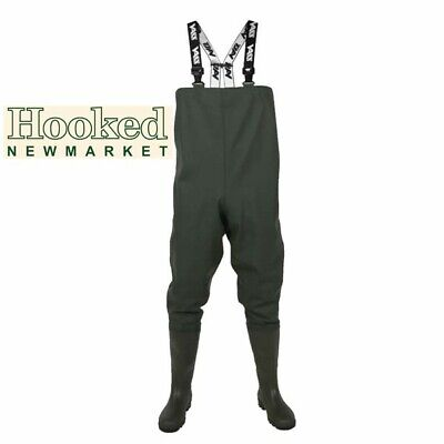 Vass Tex 600 Series PVC Chest Waders -   ALL Sizes -   NEW 2020 STOCK NOW IN • 49.99£