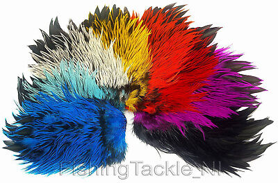 Whiting Badger Saddles - Special Cold Dyed Fly Tying Hackles Various Colours • 19.95£