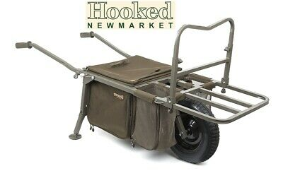 Fox  Explorer Barrow Deluxe (CTR013) Including Voyager Under Barrow Bag • 219.99£