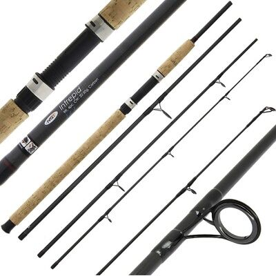 NEW NGT Intrepid 9FT 4PC Carbon All Round Carp Coarse Sea Fishing Travel Rod  • 107.12£