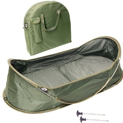 Ngt New Carp Fishing Pop Up Cradle Protective Unhooking Mat And Carry Case 250 • 44.95£