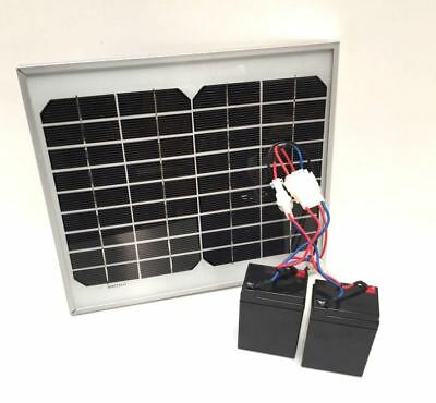 Lake Reaper Battery & Solar Panel Bundle! Includes 2 USB Ports For Phone Ect    • 75£