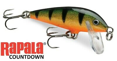 Rapala Countdown Sinking Lures Various Colours Sizes • 8.95£