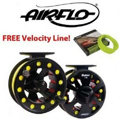 Superb Light Airflo Sniper Fly Reel 3/4 WITH FREE AIRFLO FLY LINE  • 33.75£