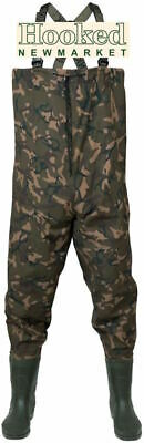 Fox Camo Lightweight Waders **ALL SIZES - NEW 2020 MODEL** • 69.99£